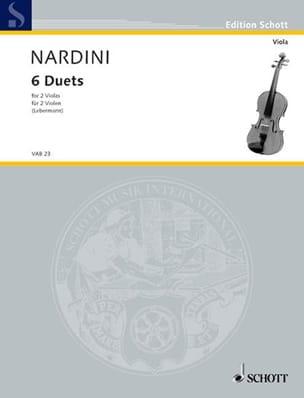 Pietro Nardini - 6 Duets – 2 Violas - Partition - di-arezzo.fr