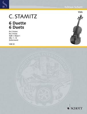 Carl Stamitz - 6 Duette, Heft 1 - Partition - di-arezzo.fr