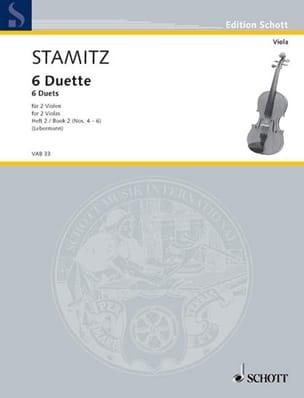 Carl Stamitz - 6 Duette, Heft 2 - Partition - di-arezzo.fr
