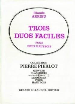 Claude Arrieu - 3 duos faciles - Partition - di-arezzo.fr