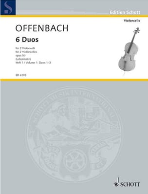 Jacques Offenbach - 6 Duos Op. 50 Heft 1 (1-3) - Sheet Music - di-arezzo.co.uk