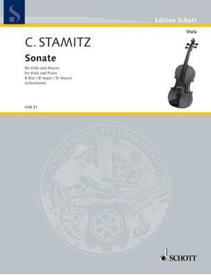 Carl Stamitz - Sonate B-Dur - Partition - di-arezzo.fr