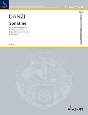 Franz Danzi - Sonatine D-Dur -Flöte und Klavier - Partition - di-arezzo.fr