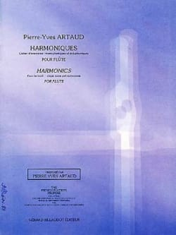 Pierre-Yves Artaud - harmonics - Sheet Music - di-arezzo.co.uk