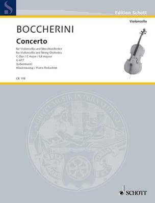 BOCCHERINI - Cello Concerto No. 1 in C major - Sheet Music - di-arezzo.co.uk