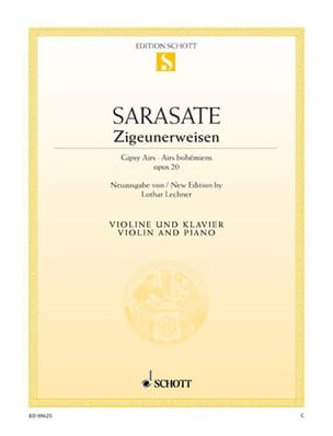 Pablo de Sarasate - Zigeunerweisen op. 20 - Partitura - di-arezzo.es