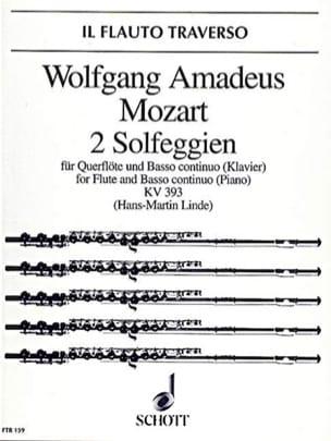 2 Solfeggien KV 393 – Flöte und Bc (Klavier) - laflutedepan.com