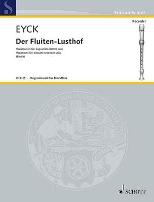 Jacob van Eyck - Der Fluiten-Lusthof - Solo Sopranblockflöte - Sheet Music - di-arezzo.co.uk