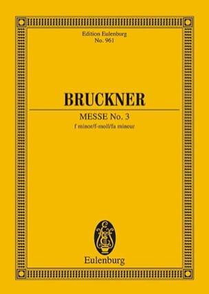 Messe Nr. 3 f-Moll - Anton Bruckner - Partition - laflutedepan.com