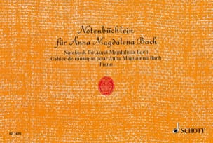 Notenbüchlein für Anna Magdalena Bach - laflutedepan.com