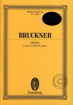 Missa - Anton Bruckner - Partition - Petit format - laflutedepan.com