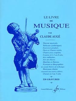 Claude Augé - Le Livre de Musique - Partition - di-arezzo.fr
