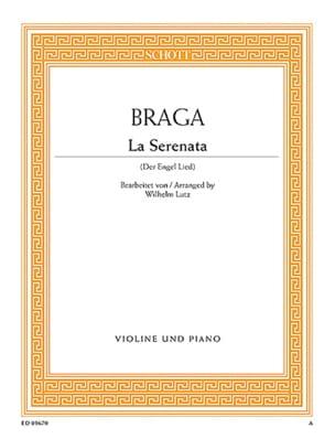 La Serenata - Gaetano Braga - Partition - Violon - laflutedepan.com
