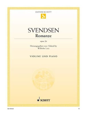 Johan Severin Svendsen - Romanze op. 26 - Sheet Music - di-arezzo.co.uk