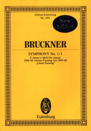 Sinfonie Nr. 1/1 - BRUCKNER - Partition - laflutedepan.com