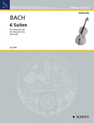 Johann Sebastian Bach - 6 Suites, Bwv 1007-1012 - Partition - di-arezzo.fr