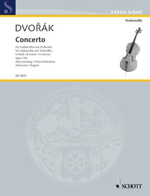 DVORAK - Cello Concerto If Minor Op. 104 - Sheet Music - di-arezzo.com