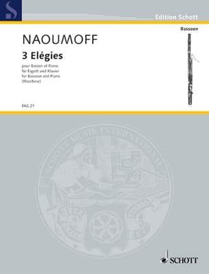 Emile Naoumoff - 3 Elegies - Sheet Music - di-arezzo.com