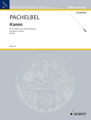 Johann Pachelbel - Kanon - Partitur - Sheet Music - di-arezzo.co.uk