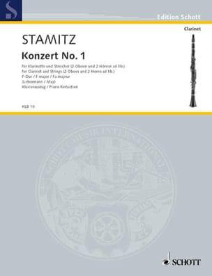 Carl Stamitz - Konzert Nr. 1 F-Hard - Klarinette Klavier - Sheet Music - di-arezzo.co.uk