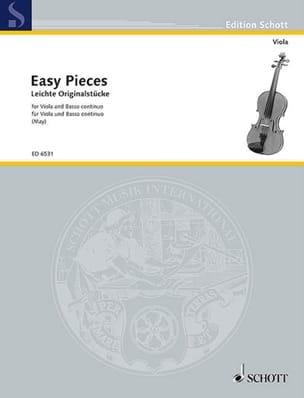 Helmut May - Leichte Originalsätze – Alto - Partition - di-arezzo.fr