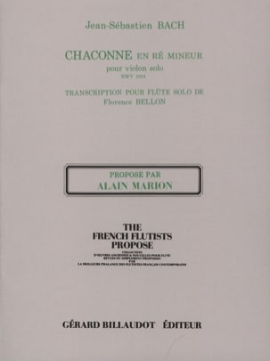 BACH - Chaconne in D Min. Bwv 1004 - Sheet Music - di-arezzo.co.uk