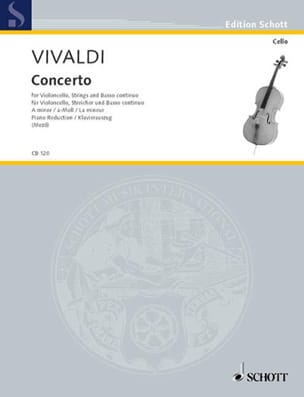 Antonio Vivaldi - Concerto Violoncelle en la mineur RV 442 - Partition - di-arezzo.fr
