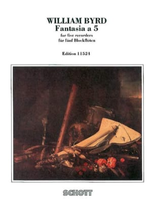 William Byrd - Fantasia a 5 - Partition - di-arezzo.fr