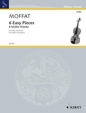 Alfred Moffat - 6 Leichte Stücke - Partition - di-arezzo.fr