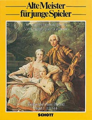 Moffat Alfred / Szende O. - Alte Meister für junge Spieler Bd 1 – Violone - Partition - di-arezzo.fr