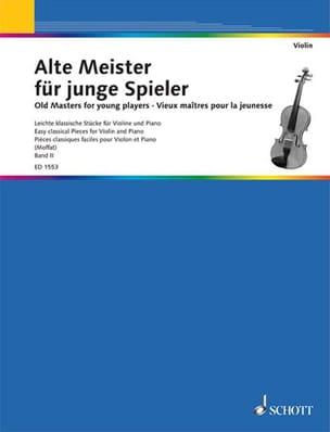 Moffat Alfred / Szende O. - Alte Meister für junge Spieler Bd 2 – Violone - Partition - di-arezzo.fr