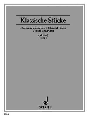 Alfred Moffat - Klassische Stücke, Helt 1 - Partition - di-arezzo.fr