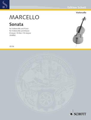 Benedetto Marcello - Sonata D-Dur - Partition - di-arezzo.co.uk