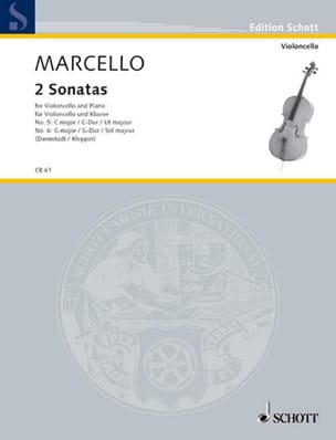 Benedetto Marcello - 2 Sonaten G-Dur / C-Dur - Sheet Music - di-arezzo.co.uk