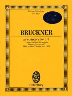 Sinfonie Nr. 3 / 3 - Anton Bruckner - Partition - laflutedepan.com