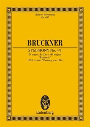 Sinfonie Nr. 4 Es-Dur BRUCKNER Partition Petit format - laflutedepan
