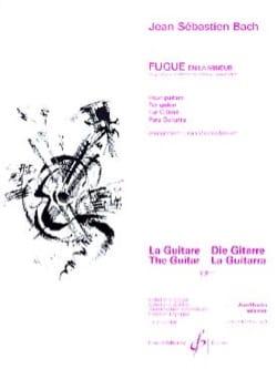 Fugue En La Mineur - BACH - Partition - Guitare - laflutedepan.com