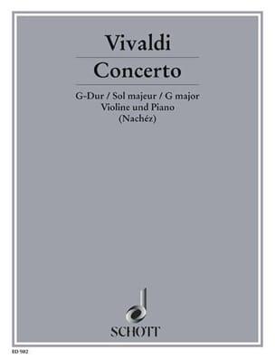VIVALDI - Concerto Op. 4 N° 12 en Sol Majeur - Rv 298 - Partition - di-arezzo.fr
