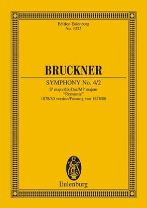 Anton Bruckner - Sinfonie Nr. 4/2 Es-Dur - Sheet Music - di-arezzo.com