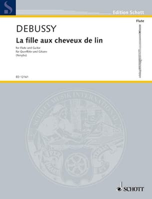 DEBUSSY - The girl with flaxen hair - Flute - Sheet Music - di-arezzo.com