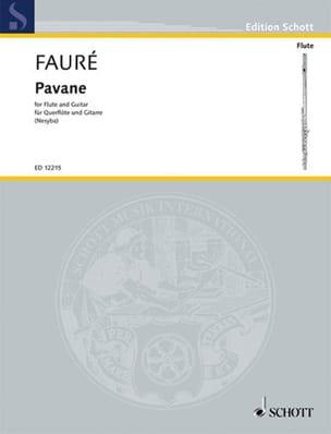 Gabriel Fauré - Pavane - Partition - di-arezzo.fr