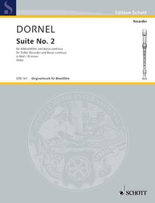 Suite II d-Moll Louis-Antoine Dornel Partition laflutedepan