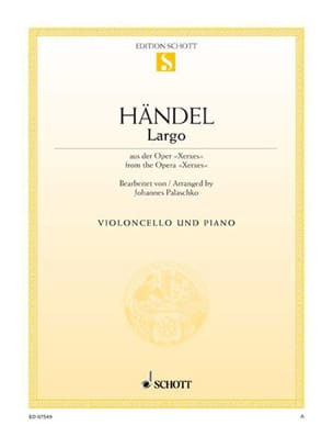 HAENDEL - Largo - Cello - Partition - di-arezzo.es