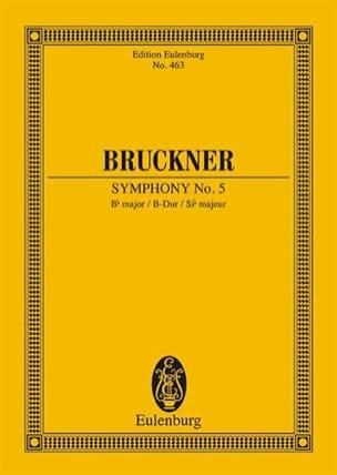 Sinfonie Nr. 5 B-Dur - Anton Bruckner - Partition - laflutedepan.com