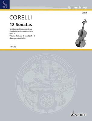 Arcangelo Corelli - 12 Sonates op. 5, Volume 1 1 à 6) Paumgartner) - Partition - di-arezzo.fr