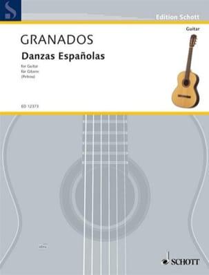 Danzas espanolas – Gitarre - Enrique Granados - laflutedepan.com