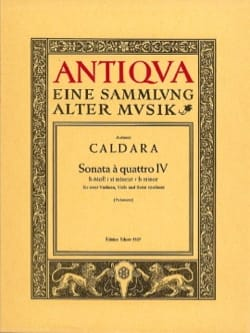 Sonata a quattro Nr. 4 h-moll -Stimmen - laflutedepan.com