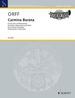 Carl Orff - Carmina Burana - Partitur - Sheet Music - di-arezzo.co.uk