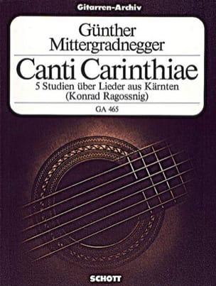Canti Carinthiae –Gitarre - laflutedepan.com