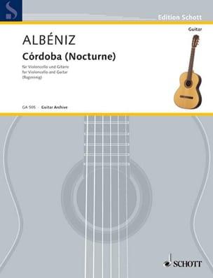 Córdoba Nocturne - Isaac Albeniz - Partition - Duos - laflutedepan.com